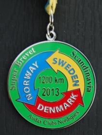 2013-08-19 - SBS 2013 - Medaljen