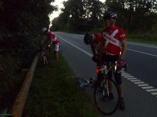 2014-07-21 Haderslev-Paris, 1. etappe i Danmark - På vei mot Tyskland.