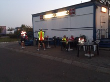 2014-07-22 Haderslev-Paris, 1. etappe i Tyskland - Ved elven Elben.
