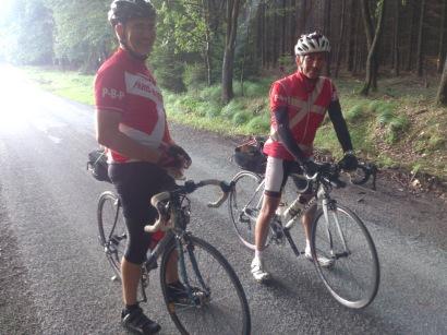 2014-07-22 Haderslev-Paris, 1. etappe i Tyskland - Teknisk pause.