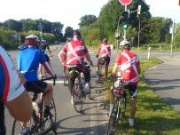 2014-07-22 Haderslev-Paris, 1. etappe i Tyskland - Videre etter frokosten.