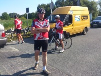 2014-07-22 Haderslev-Paris, 1. etappe i Tyskland - Pust i bakken.