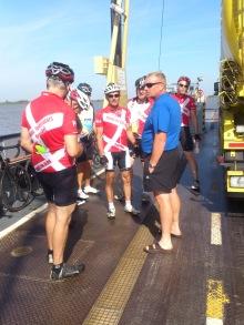 2014-07-22 Haderslev-Paris, 1. etappe i Tyskland - Hurtigoverfart Brake-Sandstedt.