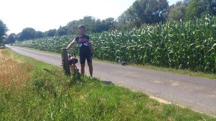 "2014-07-23 Haderslev-Paris, 2. etappe i Nederland - Liten ""teknisk"" pause."