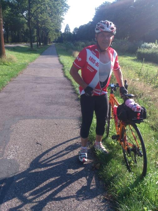 2014-07-23 Haderslev-Paris, 2. etappe i Nederland - og enda en liten pause.