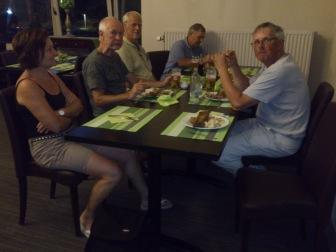 2014-07-23 Haderslev-Paris, 2. etappe i Belgia - Framme på hotellet.