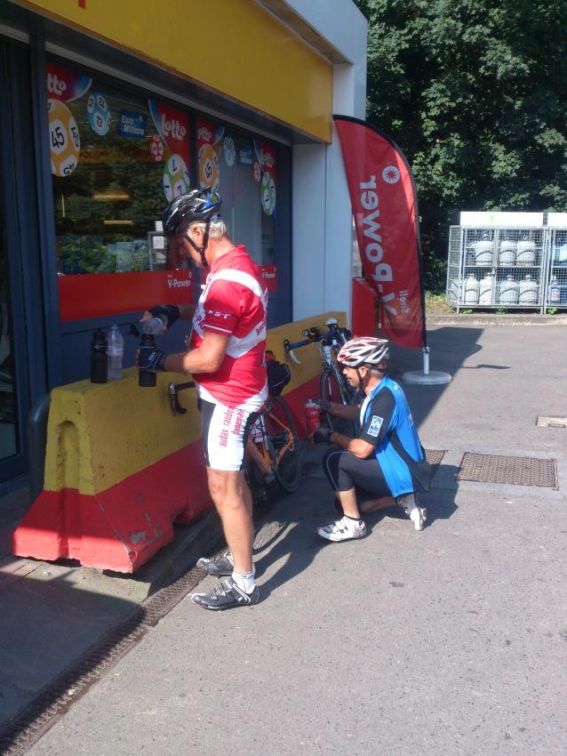 2014-07-23 Haderslev-Paris, 3. etappe i Belgia - I Huy.