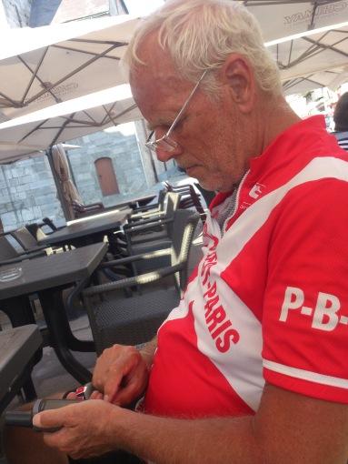 2014-07-23 Haderslev-Paris, 3. etappe i Belgia - I Chimay.