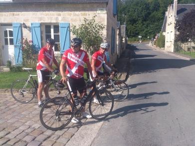 2014-07-25 Haderslev-Paris, 4. etappe i Frankrike - Kort pause.