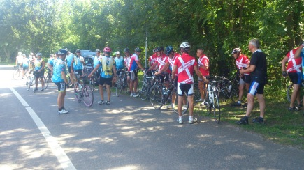2014-07-25 Haderslev-Paris, 4. etappe i Frankrike - Gressy.