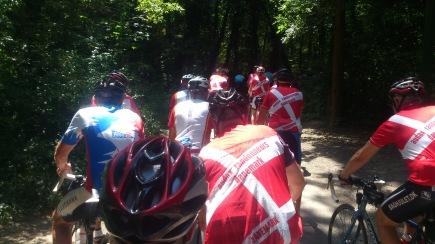 "2014-07-25 Haderslev-Paris, 4. etappe i Frankrike - Langs ""Canal de l'Ourcq""."