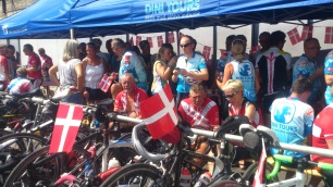 2014-07-25 Haderslev-Paris, 4. etappe i Frankrike - Framme i Paris.