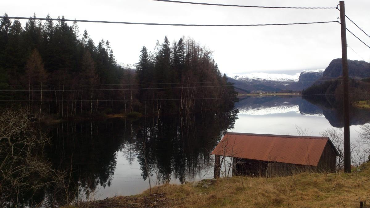 2016-02-10 - 200 km Vinter Brevet - På vei mot Gloppedalsura.