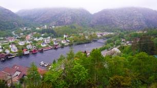 Utsikt over Åna Sira.