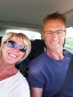 På vei hjem til Ålgård og Norge - glade og tilfredse.