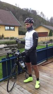 Testtur med norske medlemmer i RAAM team 04