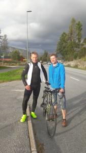 Testtur med norske medlemmer i RAAM team 07